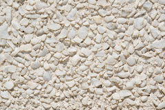 White Stone Wall Royalty Free Stock Photos