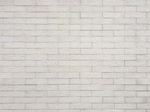 White stone wall brick Royalty Free Stock Photos