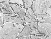 White stone wall Stock Photo