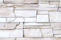 White stone wall decor royalty free stock photos