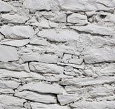 White stone wall texture background Stock Photo