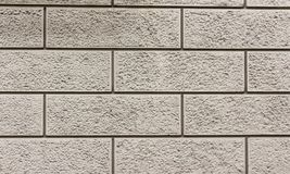 White stonewall texture. White stone wall texture background surface of architecture Royalty Free Stock Images