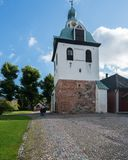 Cathedral in Porvoo, Finland stock photos