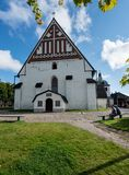 Cathedral in Porvoo, Finland royalty free stock photo