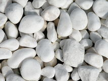 White stones Royalty Free Stock Photography
