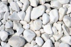 White stones Stock Images