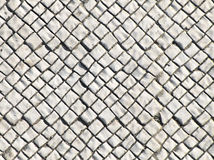 White Stones. From a sidewalk Royalty Free Stock Photos