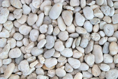 White stones abstract background Stock Photo