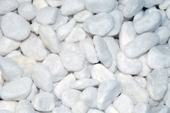 White stones as background Royalty Free Stock Image