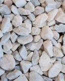 White stones. Backgound of small white stones royalty free stock photos