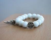 Fashion white stones gemstone jewelry Royalty Free Stock Image
