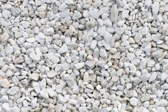 White stones texture Royalty Free Stock Photos