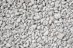 White stones texture background. Nature concept Stock Photos