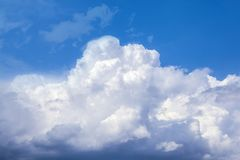 White storm clouds royalty free stock photos