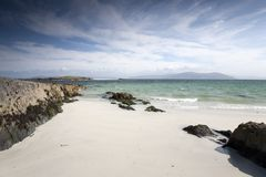 White Strand of the Monks; Beach; Iona Royalty Free Stock Images