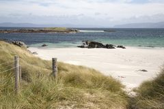 White Strand of the Monks Beach; Iona Royalty Free Stock Image