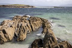 White Strand of the Monks Beach; Iona Stock Photo