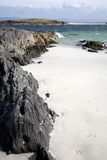 White Strand of the Monks Beach; Iona Stock Photography