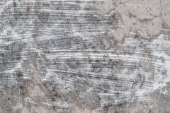 White streaks of paint on concrete Stock Images