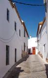 White street of Carmona Royalty Free Stock Photography