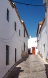 White street of Carmona Royalty Free Stock Photography