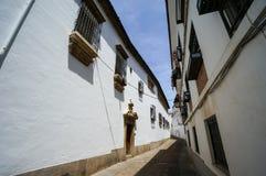 White Street of Cordoba, Spain Stock Image