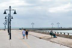 White Street Fishing Pier in Key West, Florida Stock Image