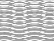 White stripe waves pattern futuristic background Royalty Free Stock Image