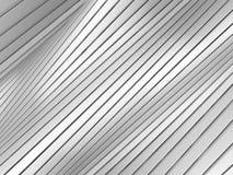 White stripe waves pattern futuristic background Royalty Free Stock Photo