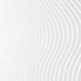 White stripe waves pattern futuristic background Stock Photo