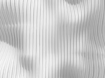 White stripe waves pattern futuristic background Stock Images