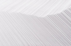 White striped stepped abstract texture with halftone border. Stock Photography