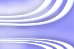 White stripes. Blue abstract wallpaper with white stripes Royalty Free Stock Image