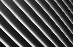 White stripes. White symmetrical stripes on a black background Royalty Free Stock Photography