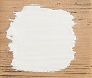 White Stroke Paint Royalty Free Stock Photography