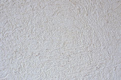 White stucco background. Modern fine white stucco background Royalty Free Stock Photography