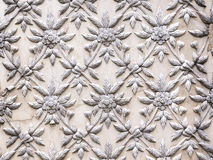 The White stucco design Stock Photos