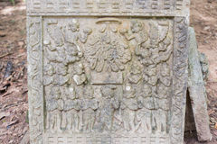 The White stucco , thai style. Stock Photography