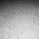 White stucco wall background. Dark gradient from the top Royalty Free Stock Image