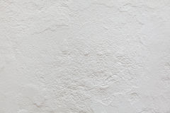 White stucco wall. Background texture Royalty Free Stock Image