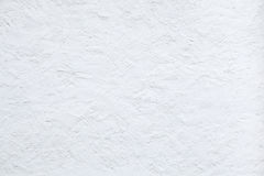 White stucco wall. Background texture Royalty Free Stock Photos