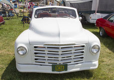 White Studebaker Convertible Front View Stock Photography