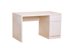 White study desk Stock Image