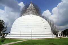White stupa Stock Images