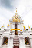 White stupa Stock Photo