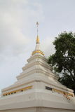 White stupa Stock Images