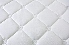 White stylish fabric with knobs Royalty Free Stock Images