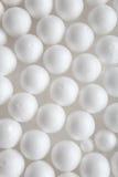 White styrofoam balls Royalty Free Stock Photos