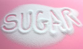 White sugar Royalty Free Stock Photos