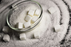 White Sugar Royalty Free Stock Photography